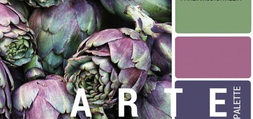 L'Arte Contemporanea trasformata in Palette di Colori