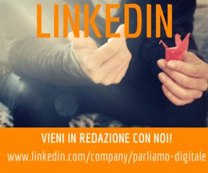 Parliamo Digitale – Pagina Aziendale su LinkedIn – Community online su Creatività, Comunicazione, Tecnologia, Advertising e Professioni Digitali