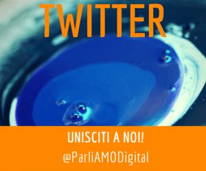 Parliamo Digitale – Profilo Twitter – Community online su Comunicazione, Tecnologia, Advertising e Professioni Digitali
